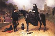 Sir Edwin Landseer Queen Victoria at Osborne House (mk25) oil painting picture wholesale