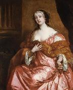 Sir Peter Lely Elizabeth Hamilton Countess of Gramont (mk25 oil painting artist