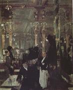 Sir William Orpen The Cafe Royal in London (nn03) oil painting picture wholesale