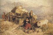 Sir edwin henry landseer,R.A. Sketch for Harvest in the Highlands (mk37) oil painting picture wholesale