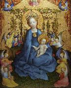 Stefan Lochner The Coronation of the Virgin (nn03) oil painting artist