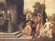The Brunswick Monogrammist Elizabeth I and the three Goddesses (mk25) oil painting picture wholesale