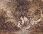 Thomas Gainsborough Diana and Actaeon (mk25) oil painting picture wholesale
