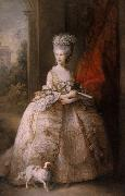 Thomas Gainsborough Queen Charlotte (mk25) oil painting reproduction