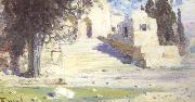 Vasilii Polenov Temple in Palestine (nn02) oil painting picture wholesale
