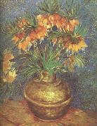 Vincent Van Gogh Fritillaries in a Copper Vase (nn04) oil painting picture wholesale