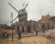Vincent Van Gogh Le Moulin de la Galette (nn04) oil painting picture wholesale
