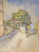 Vincent Van Gogh The Entrance of a Belvedere (nn04) oil painting picture wholesale