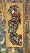 Vincent Van Gogh Japonaiserie:Oiran (nn04) oil painting picture wholesale