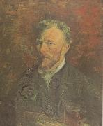 Vincent Van Gogh Self-Portrait with Pipe and Glass (nn04) oil painting picture wholesale