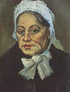 Vincent Van Gogh Head of an Old Woman with White Cap (nn04) oil painting picture wholesale