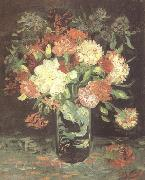 Vincent Van Gogh Vase wtih Carnations (nn04) oil painting picture wholesale
