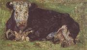 Vincent Van Gogh Lying Cow (nn04) oil painting picture wholesale