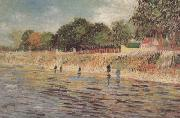 Vincent Van Gogh The Banks of the Seine (nn04) oil painting picture wholesale