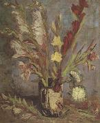 Vincent Van Gogh Vase with Gladioli (nn04) oil painting picture wholesale