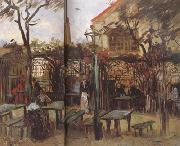 Vincent Van Gogh Terrace of a Cafe on Montmartre (nn04) oil painting picture wholesale