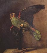 Vincent Van Gogh The Green Parrot (nn04) oil painting picture wholesale