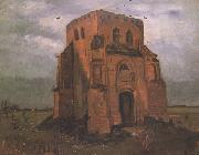 Vincent Van Gogh The Old Cemetery Tower at Nuenen (nn04) oil painting picture wholesale