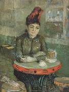 Vincent Van Gogh Agostina Segatori Sitting in the Cafe du Tamborin (nn04) oil painting picture wholesale