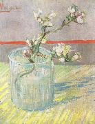 Vincent Van Gogh Blossoming Almond Branch in a Glass (nn04) oil painting picture wholesale