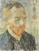 Vincent Van Gogh Self-Portrait with a Japanese Print (nn04) oil painting picture wholesale