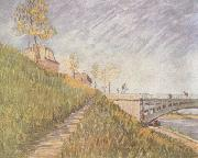 Vincent Van Gogh Banks of the Seine wtih the Pont de Clichy (nn04) oil painting picture wholesale