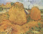 Vincent Van Gogh Haystacks in Provence (nn04) oil painting picture wholesale