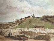 Vincent Van Gogh Montmartre:Quarry,the Mills (nn04) oil painting picture wholesale