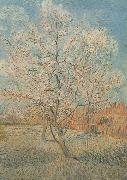 Vincent Van Gogh Peach Tree in Blossom (nn040 oil painting picture wholesale