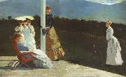 Winslow Homer The Croquet Match (mk44) oil painting picture wholesale
