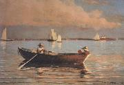 Winslow Homer Gloucester Harbor (mk44) oil painting picture wholesale