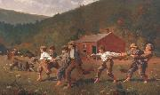 Winslow Homer Snap the Whip (mk44) oil painting picture wholesale