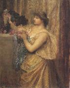 george frederic watts,o.m.,r.a. Portrait of Mary Anderson (mk37) oil painting artist