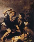 Bartolome Esteban Murillo The Pie Eater Sweden oil painting reproduction