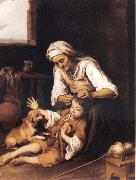 Bartolome Esteban Murillo The Toilette oil painting picture wholesale