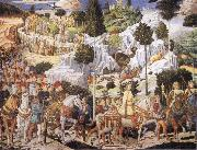 Benozzo Gozzoli Procession of the Magi oil painting picture wholesale