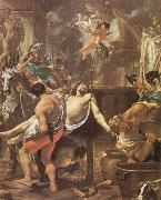 Brun, Charles Le The Martyrdom of St John the Evangelisth at the Porta Latina oil painting picture wholesale