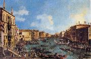 Canaletto Regatta on the Canale Grande oil painting picture wholesale