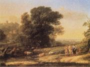 Claude Lorrain Landscape with Cephalus and Procris reunited by Diana oil painting picture wholesale