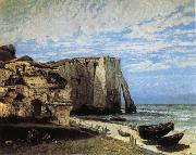 Courbet, Gustave The Cliff at Etretat after the Storm oil painting picture wholesale