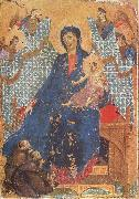 Duccio di Buoninsegna Madonna of the Franciscans oil painting picture wholesale