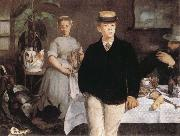 Edouard Manet Louncheon in the Studio oil painting picture wholesale