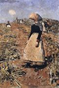 Edward Arthur Walton Berwickshire Field-Workers oil painting picture wholesale
