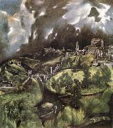 El Greco View of Toledo oil painting picture wholesale