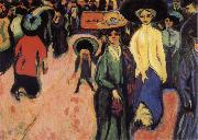 Ernst Ludwig Kirchner The Street oil painting picture wholesale