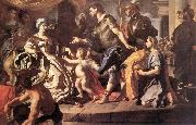 Francesco Solimena Dido Receiveng Aeneas and Cupid Disguised as Ascanius oil painting picture wholesale