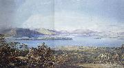 Francis Oliver Finch View of Loch Lomond oil painting picture wholesale
