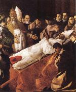 Francisco de Zurbaran The Death of St Bonaventura oil painting picture wholesale