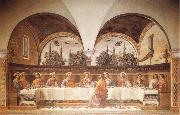 GHIRLANDAIO, Domenico Last Supper oil painting picture wholesale