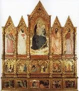 GIOVANNI DA MILANO Polyptych oil painting picture wholesale